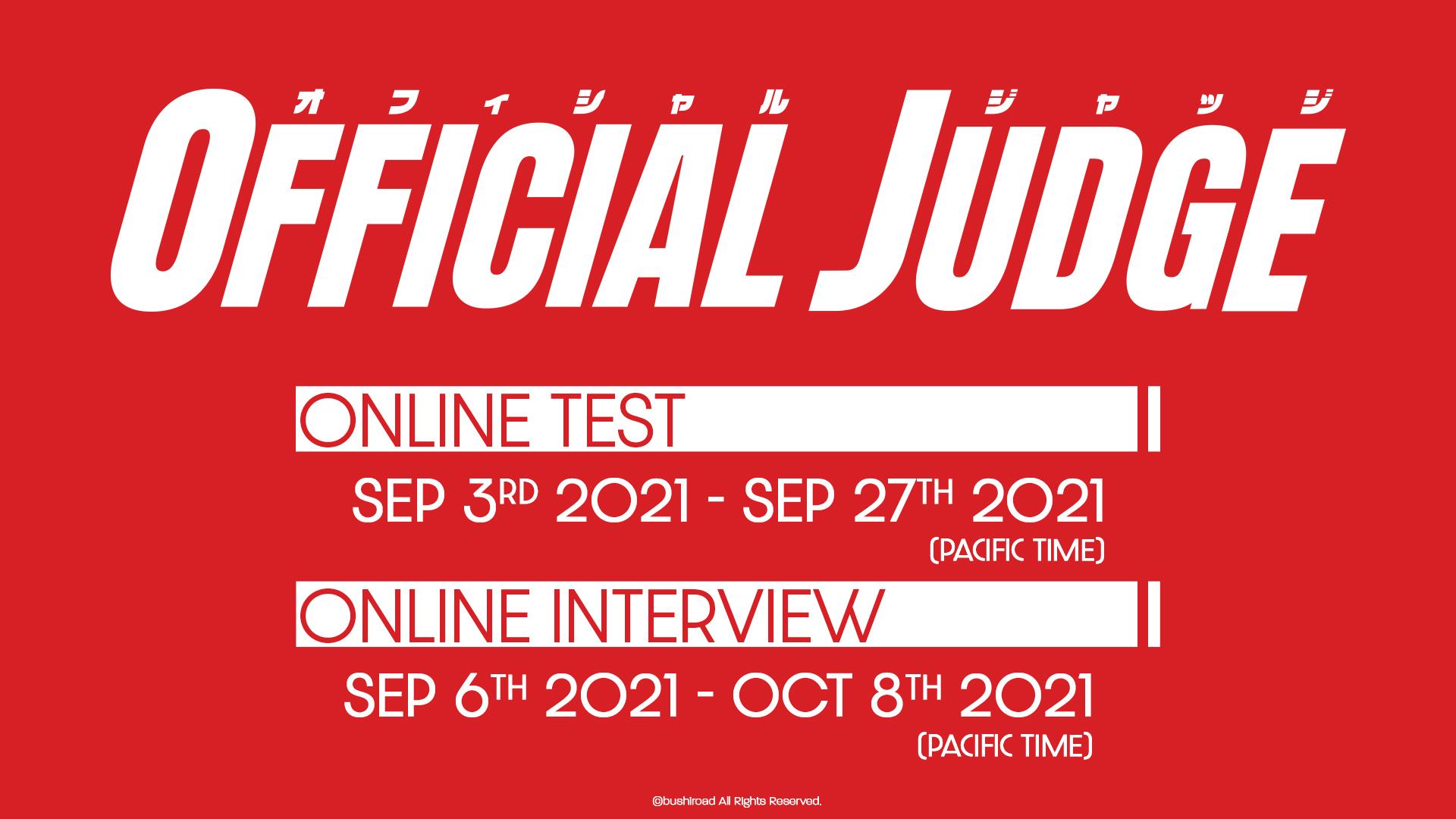 Bushiroad Judge Program