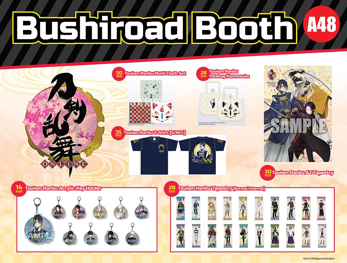 AFASG Bushiroad Booth Nitro Plus Merchandise