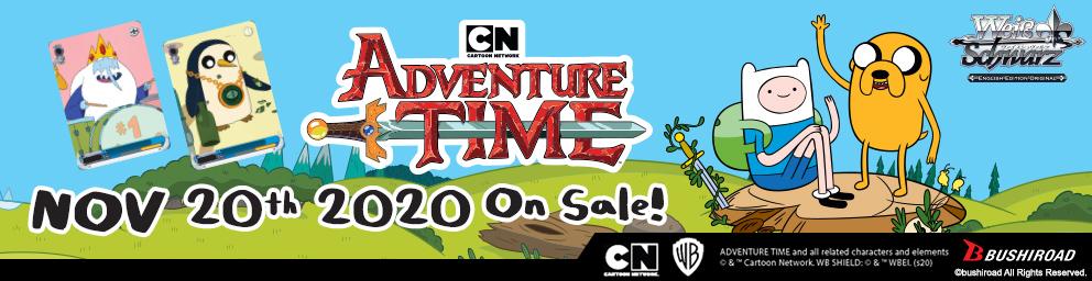Adventure Time Weiß Schwarz