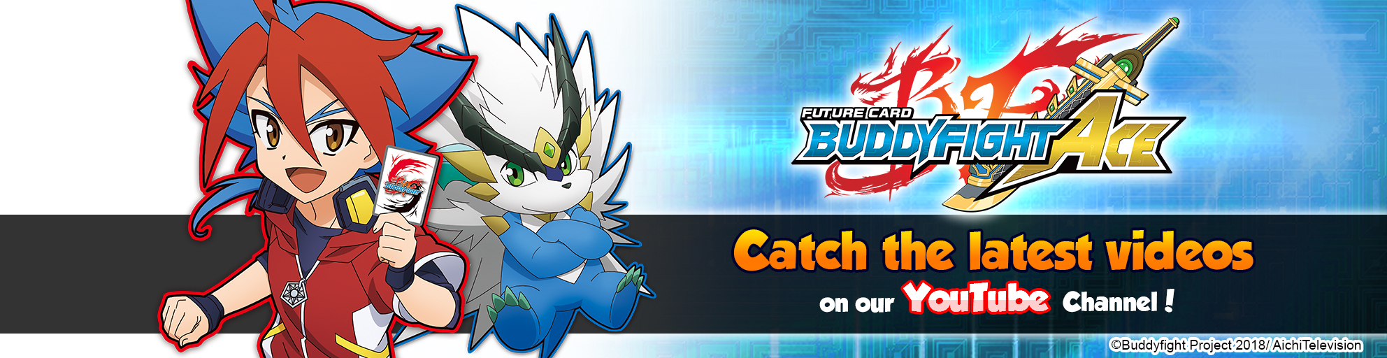 Future Card Buddyfight Ace New Videos on YouTube