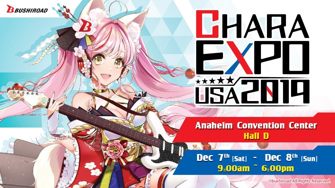 CharaExpo USA 2019 Banner