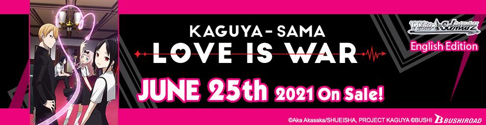 Kaguya-sama: Love is War on sale June 25, 2021