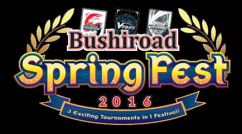Bushiroad Spring Fest 2016 logo