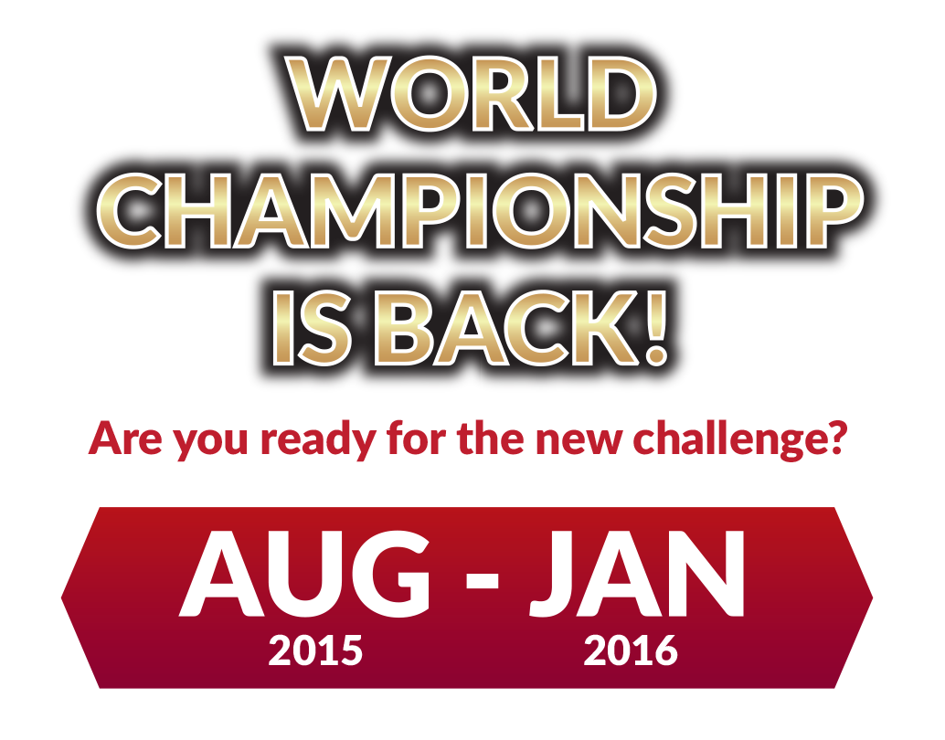 World Championship is Back